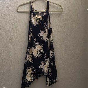 Vanilla Bay Floral Mini Dress